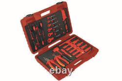1000V Insulated Vde Electrical 3/8 Drive Socket Ratchet Spanner Pliers Tool Kit