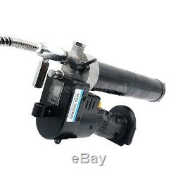 100W Electrical Grease Gun 18V Cordless Grease Gun Kit 8000PSI Heavy With Battery