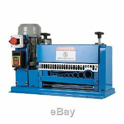 10 Blades Electric Wire Stripping Machine Copper Recycle1.538mm Cable Stripper