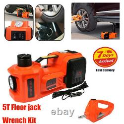 11023lbs Electric Hydraulic Jack&Impact Wrench With 150psi Pump LED to 450mm