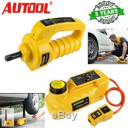 12V 5T Car Electric Hydraulic Floor Jack&Impact Wrench Jack Stand Emergency Kit