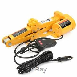 12V Car Electric Hydraulic Floor Jack Lifting Set Impact Wrench Tool with Flash
