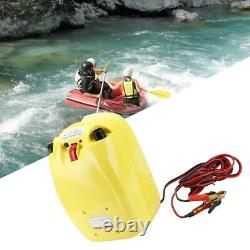 12V Electric High Pressure Air Pump Inflator Tool for Inflatable Boat Kayak New