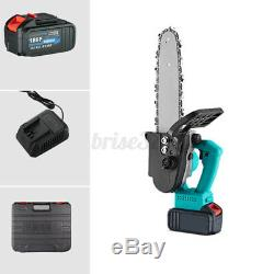 12 One-Hand Saw Woodworking 21V Electric Chainsaw Wood Cutter tool set Cordless