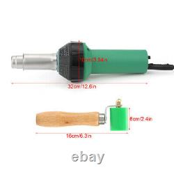 1600W Electric Soldering Iron Welding Kit Large&Small Plastic Welder Nozzle