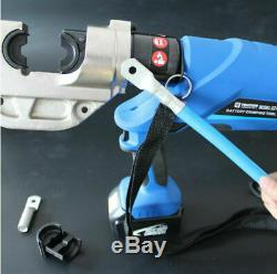 16-400mm² Hydraulic Crimping Pliers Rechargeable EZ-400 Electric Crimping Tool