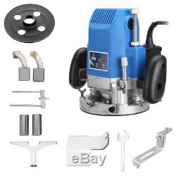 1800W 1/4 3/8 1/2 Woodworking Electric Hand Trimmer Wood Router Joiners Tool