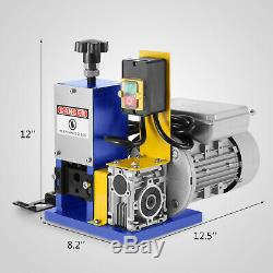 220V Powered Electric Wire Stripping Machine Durable Portable Copper UPDATED