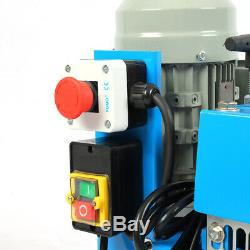 220V Powered Electric Wire Stripping Machine Scrap Cable Stripper Peeler UK Plug