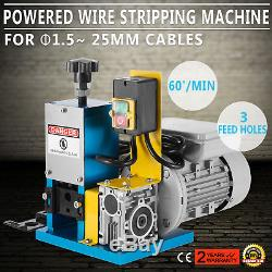 220V Powered Electric Wire Stripping Machine Scrap Portable Copper STREET PRICE