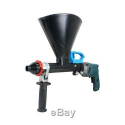 220-380V Electric Mortar Cement Wall Grouting DIY Applicator Gun Kit Portable SH