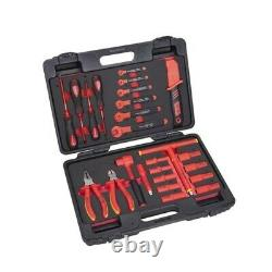 26 Piece Insulated Hybrid Electric 3/8 Drive Tool Set VDE Certificated ITK0026
