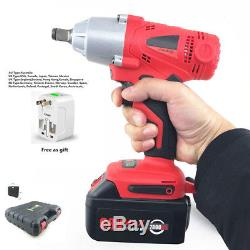 360 (n. M) Rechargeable Brushless Electric Wrench Impact wrench 100-240V 7800Ah