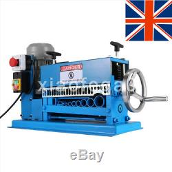 370W 220V Powered Electric Wire Stripping Machine 10 Blades Metal Cable Portable