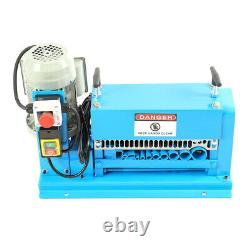 370W Electric Wire Stripping Machine 1.5mm-38mm Cable Stripper Copper Recycle