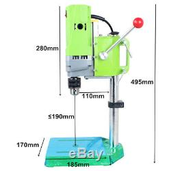 710W MINIQ BG-5156E Mini Electric Bench Drilling Machine Bench Drill Stand