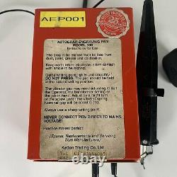 Actograp Model 100 Etching Tool Engraver Electric Heavy Duty Engraving