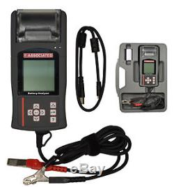 Associated 12-1015 Digital Battery Electrical System Analyzer With Built-In