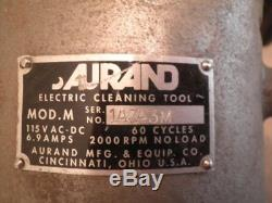 Aurand Model M Electric Cleaning Tool 8 Surface Scaler Descaler Prep Tool 115V
