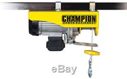 Automatic Electric Hoist 440/880 120-Volt Handheld Tethered Remote Control