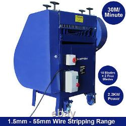 Automatic Wire Stripper Electric Strip Cable Powered Portable Copper Machine