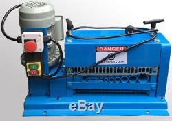 Automatic electric powered wire cable stripper stripping machine! Free shipping