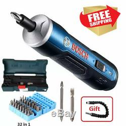 BOSCH GO Electrical Cordless Screwdriver 3.6V lithium-ion 6 Gears Tool 0-360 RPM