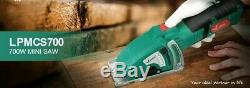 Circular Saw Electric Mini 700W Hand Tool Wood Metal Parallel Guide Attachment