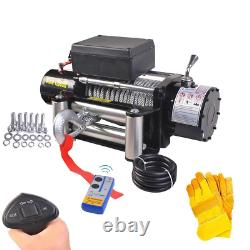 Classic 12500 lbs 12 V Electric Recovery Winch