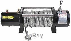 Classic 9500 Lbs 12V Electric Recovery Winch