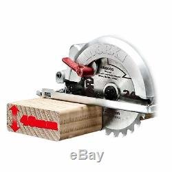 Compact Circular Saw Mini 240v Electric 120mm Plunge Power Tool Hand Held Worx