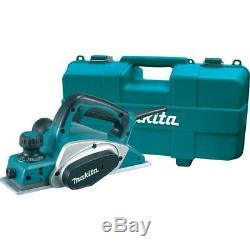 Corded Electric Hand Planer Kit 3-1/4 In. 6.5 Amp Home Woodworking Power Tool