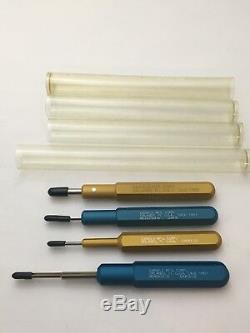 Daniels Mfg Aviation Electrical Pin Removal Tool Lot 18 Pcs Great Deal