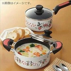 Disney Mickey Minnie Mouse kitchen one both hand pot pan frying IH gas Tool Lid