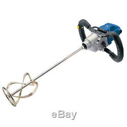 Draper Expert 09558 Power Mixer 1400w 230v Plaster Mixing Drill Electric Paddle