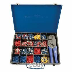 Draper Expert Electrical Cable Crimping Tool And 590 Terminals Kit 56383