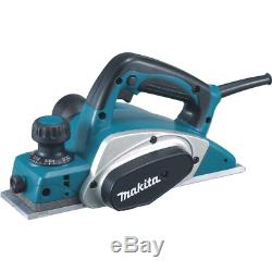 Electric Corded Home Woodworking Hand Planer Kit 3-1/4 In. 6.5 Amp Power Tool