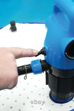 Electric Drum Pump Tool For AdBlue with Euro Adaptor Charger
