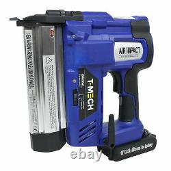 Electric Nail and Staple Gun 2 in 1 Cordless Tacker Extra Battery Heavy B0370