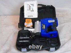 Electric Nail and Staple Gun 2 in 1 Cordless Tacker Extra Battery Heavy B0581
