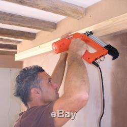 Electric Nailer 18 Gauge Brads 50mm Precision Air Hand Tool Fence Shed Building