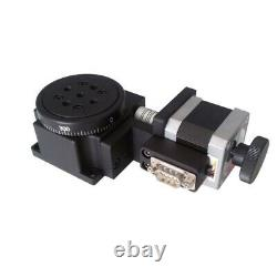 Electric Rotating Platform Motorized Precision Rotary Stages Table Diameter 60mm