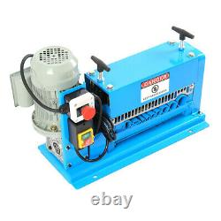 Electric Stripping Cable Wire Machine 220V Stripper Multi Hole Equipment UK Plug