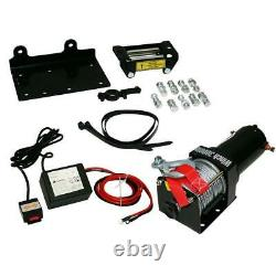 Electric Winch 1000w 12v For Jeep 3500 Car