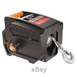 Electric Winch Towing 12 V Volt Portable Boat ATV Truck Trailer 6000 Remote