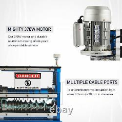 Electric Wire Stripping Machine 370W 1.5mm38mm Copper Recycle Cable Stripper