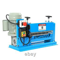 Electric Wire Stripping Machine 370W 1.5mm-38mm Cable Stripper Copper Recycle