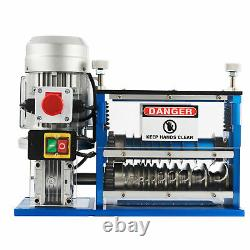 Electric Wire Stripping Machine Copper Recycle Cable Stripper 1.538mm 10 Blades
