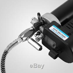 GREASE GUN CORDLESS RECHARGEABLE 18V 2xBATTERY ELECTRIC CLEARLY