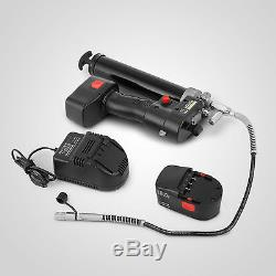 Grease Gun Cordless Rechargeable 18v LCD Battery Electric Clearly Bargain Sale